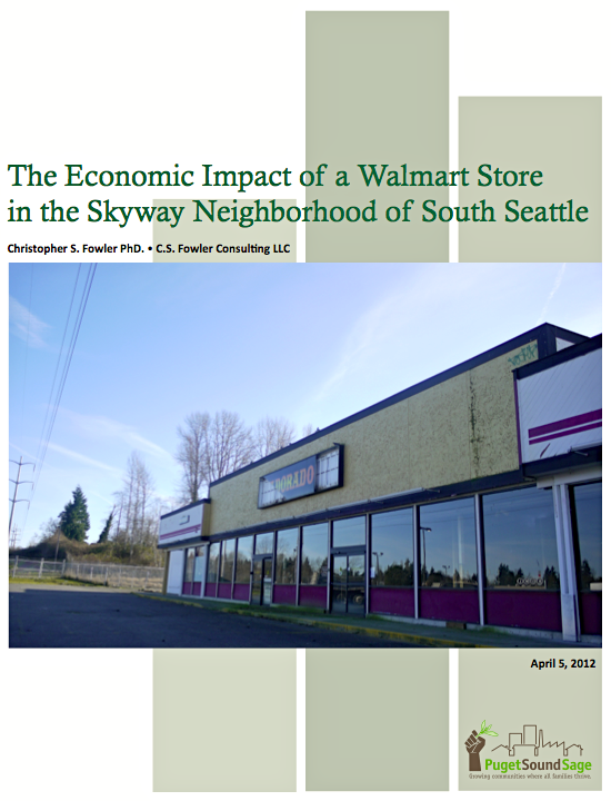 Economic Impacts of a Walmart Store in Skyway